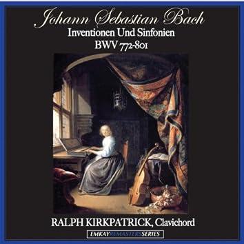 Bach: Inventionen Und Sinfonien BWV 772-801 (Remastered)