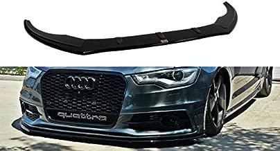 Maxton Design Front Splitter Spoiler Compatible with Audi A6 C7 S-Line V.1