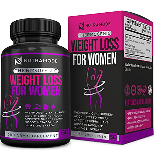 Natural Weight Loss Pills for Women-Thermogenic Fat Burning Pills for Women-Carbohydrate Blocker-Appetite Suppressant-Metabolism Booster-Diet Pills That Work Fast for Women-Belly Fat Burner for Women