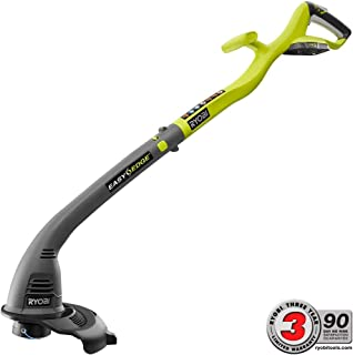 One+ 18-Volt Lithium-ion Shaft Cordless Electric String Trimmer and Edger without Battery and Charger-DISCONTINUED