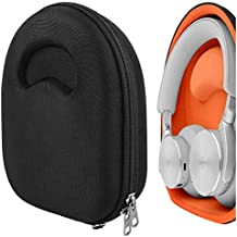 Geekria UltraShell Case for Bang & ÔLUFSEN Beoplay H95, H9i, H9, H8, H8i, H6, H4, H2 Beoplay Headphones, Replacement Protective Hard Shell Travel Carrying Bag with Room for Accessories (Black)