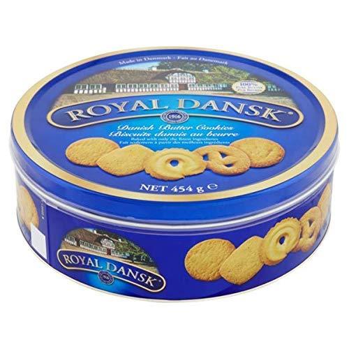 Biscuits au beurre danois Royal Dansk - 1 x 454 grammes