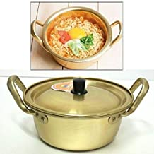 """Korea Noodle Pot/Hot Shin Ramyun Aluminum Pot 6.3""""(16cm)/ Traditional HOT POT"""
