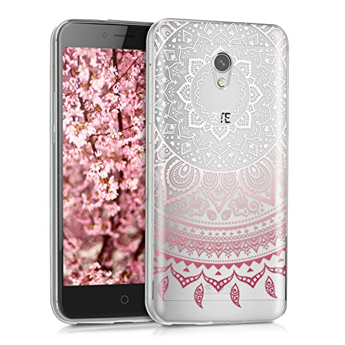 kwmobile Case Compatible with ZTE Blade V7 (5.2') - Clear Case Soft TPU...