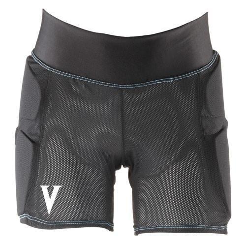 Vigilante Light Padded Shorts with Tailbone and Hip Padding for Snowboarding, Skiing, Skateboarding | Women's Version | Black - Size Large (Size 12-14)