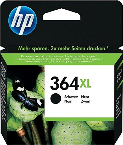HP 364XL CN684EE Cartuccia Originale per Stampanti a Getto di Inchiostro Photosmart, Nero