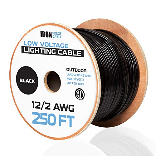 12/2 Low Voltage Landscape Wire - 250ft Outdoor...