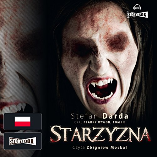 Starzyzna audiobook cover art