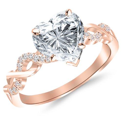 1.14 Ct Heart Diamond - 1