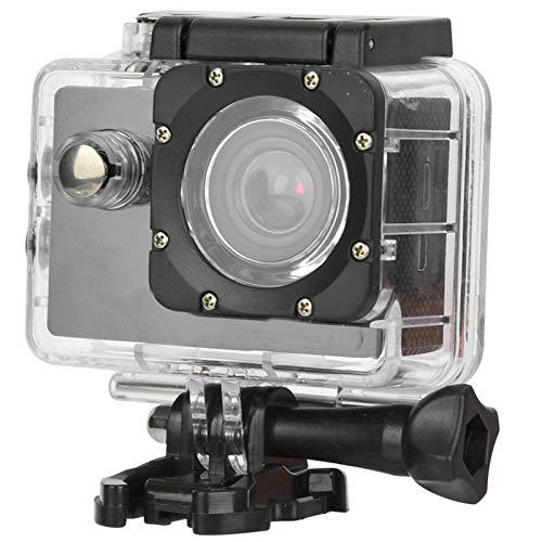 Oferta de Oure Videocámara, videocámara Videocámara, cámara de acción submarina 30M WiFi 4K para fotografía submarina Videocámara submarina Fotografía de Piscina