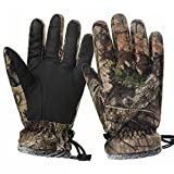 EAmber Camouflage Hunting Gloves Full Finger Winter Windproof Accessories