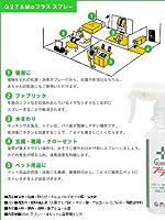 G2tam-αプラス300ml & 手指用清浄液ポンプタイプ(除菌・消臭剤 お試しセット) (2)