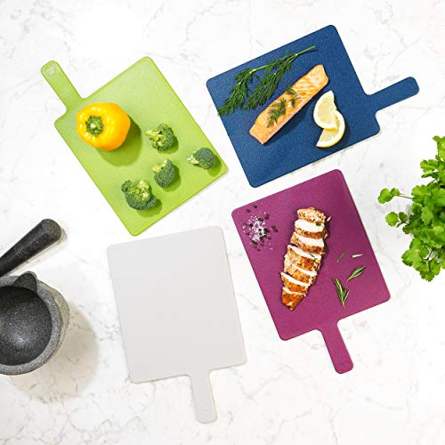 Salter Paddle Index Style Chopping Board Set - Set of 4