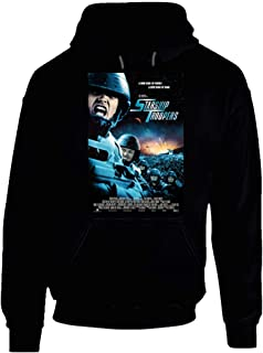 XUANYI Starship Troopers 90s Movie Poster Gift Hoodie Black.