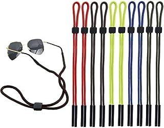 Attmu Pack of 10 Sports Sunglass Holder Strap, Safety Glasses Eyeglasses Neck Cord String Eyewear Retainer Strap
