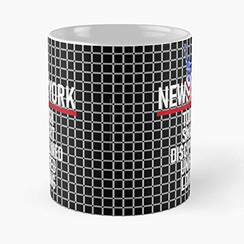 New Stay Native Yorker Travel York Safe City Christmas Cuomo Andrew Best 11oz taza de café de cerámica Personalizar