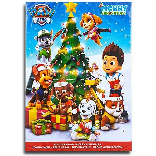 PAW Patrol (C) Schokoladen Adventskalender Vollmilch Schoko Weihnachts Kalender