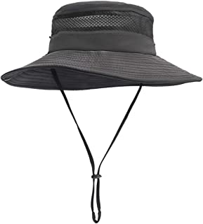 Sun Hat for Men/Women, Summer Outdoor UV Sun Protection Wide Brim Fishing Hat,Breathable and Packable Boonie Hat for Safari, Fishing,Hiking,Beach, Golf