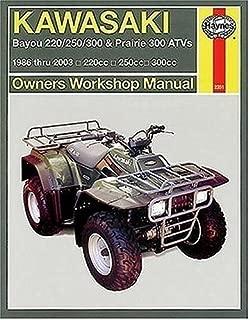 Best kawasaki prairie 300 owners manual Reviews