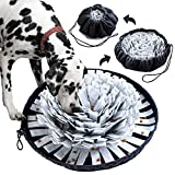 OVERTANG Pet Snuffle Mat for Dog, Dog Puzzles for Smart Dogs, Interactive Pet Puzzle Toys for Small Large Dogs Nosework Training Mat Encourages Natural Foraging Skill for Indoor Outdoor Stress Relief