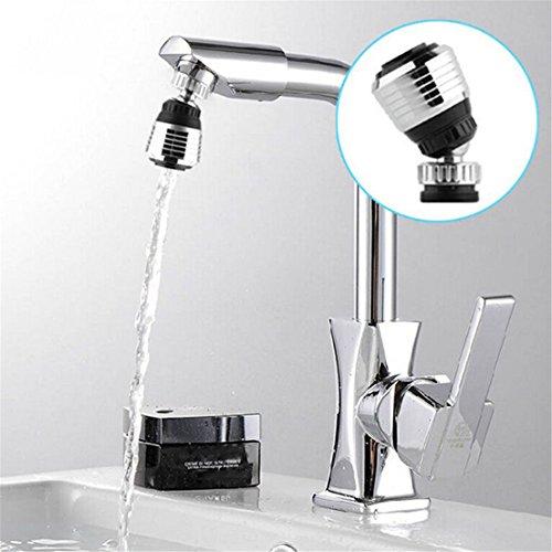 GUAngqi 360 Rotate Swivel Water Saving Tap Aerator Diffuser Faucet Nozzle Filter Adapter