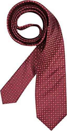 BOSS HUGO Herren Krawatte Herren-Accessoire Gemustert, Größe: Onesize, Farbe: Rot