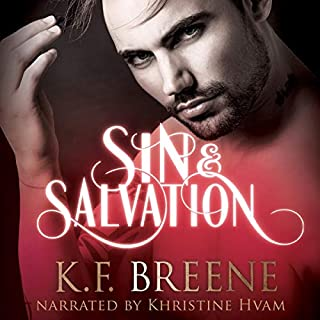 Sin & Salvation     Demigods of San Francisco, Book 3              By:                                                                                                                                 K. F. Breene                               Narrated by:                                                                                                                                 Khristine Hvam                      Length: 10 hrs     308 ratings     Overall 4.8