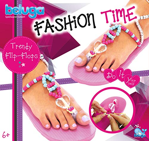 Beluga Spielwaren 12428Fashion Time Trendy Infradito Set bricolage, Rosa