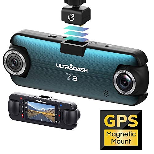 UltraDash Dash Cam, Telephoto Zoom-in + Wide Angle...