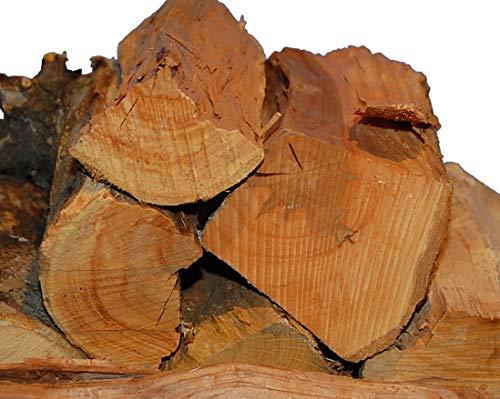 APFEL Smoker-Holz 15Kg von Landree® , aromatisches 100% natürliches Räucherholz für Smoker und große Kugelgrills, sauber, trocken, Versandkostenfrei