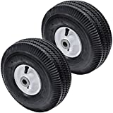 2PK Flat Free Front Wheel Tire for Toro Time Cutter Z 4.10/3.50-4 105-3471