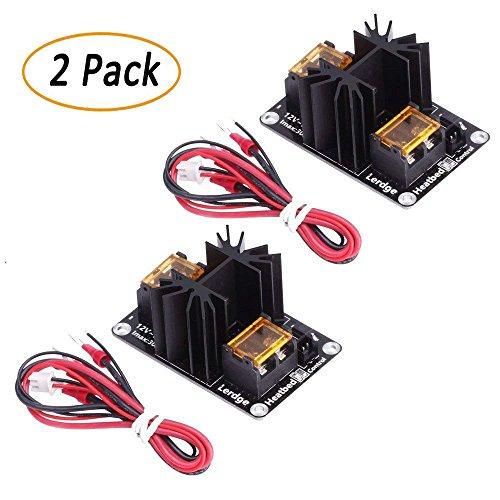 TopDirect 2Pack Upgraded MOS Mosfet zur Entlastung des Mainboards für den sicheren Betrieb des Heizbetts oder Extruders, ramps, Anet A8/A6/A2, Makerbot mk8, RepRap, Mendel, Prusa i3, E3D V6 3D Drucker