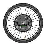 Kit De Conversión De Bicicleta Eléctrica De Rueda Mortor Delantera De 36V Y 350W, Con Kit De Conversión De Bicicleta Eléctrica De Rueda De Motor De 24' 26' 27,5' 29' 700C,Disc app control,24 in