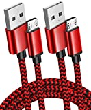 2Pack 10ft Long Micro USB Android Charger Cable Fast Quick Charging for Amazon Kindle Fire HD 6 7 8 10(1-8th Gen) HDX 8.9' 9.7' Tablets and E-Reader(3rd-11th), Xbox One S/X/Elite, PS4 Pro/Slim