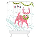 Deny Designs Betsy Olmsted Holiday REH Duschvorhang 175,3 x 182,9 cm