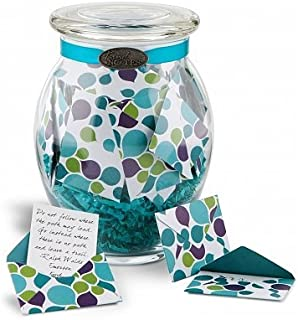 GiftTree Get Well Message Jar | Includes Keepsake Glass Jar Containing 31 Unique Get Well Messages | Encouraging Gift For Friend or Family | Supportive Messages for Women or Men