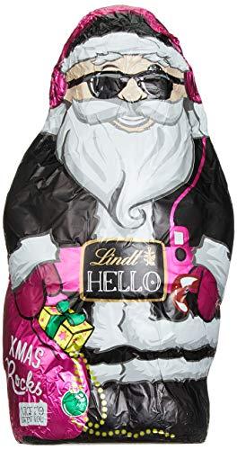 Lindt Hello Xmas Hohlfigur Santa, 3er Pack (3 x 140 g)