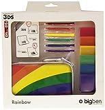 Bigben Zubehör-Set Pack Rainbow Hard-Case Tasche Spiele-Hülle etc. für Nintendo