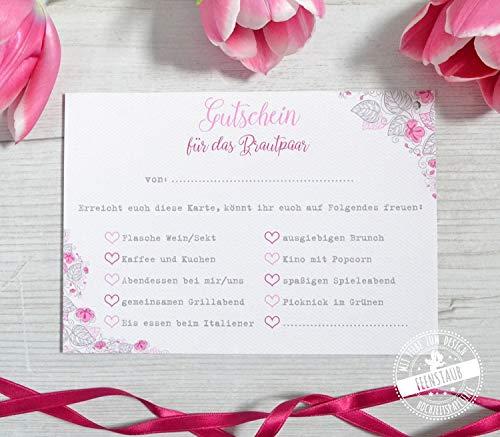 30 Ballonflugkarten Luftballonkarten, Glückwünsche ans Brautpaar, Hochzeitsspiel, gelocht leicht