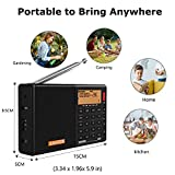 Immagine 1 radio portatile digitale sihuadon d808
