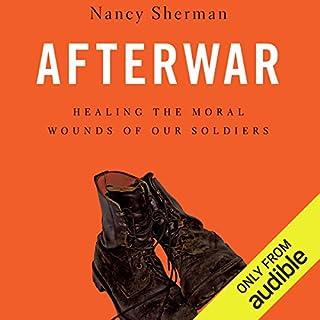 Afterwar audiobook cover art