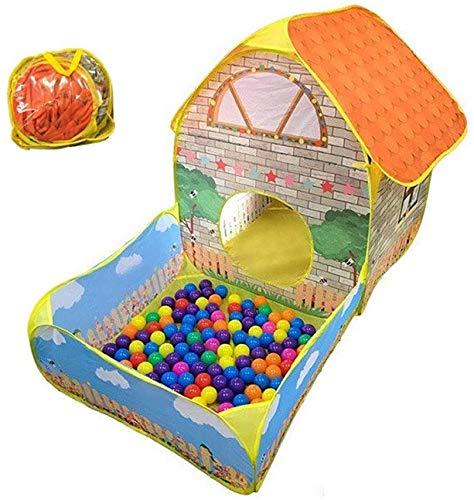 zmayastar ボールプール ボールハウス ハウスボール キッズテント カラーボール 折り畳み式 収納袋付き 持ち運び 誕生日 プレゼント ZM-YXF-02