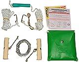[page_title]-Handkettensäge – Mit verchromter Kette – LEISE, SCHARF und FLEXIBEL – Sägen Sie so leicht und sicher wie nie – 90 Kettenglieder – 82cm Länge – C344468 (Standard)