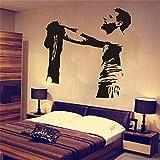pegatinas de pared Messi, jugador de fútbol Art Barcelona FC Football Club, fútbol, dormitorio, decoración, decoración del hogar