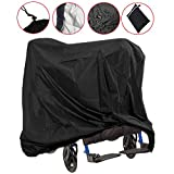 Lmeison Wheelchair Cover, Waterproof Mobility Scooter Outdoor Storage Cover Lightweight Rain Protector from Dust Dirt Snow Rain Sun Rays - 67 x 24 x 46 inch (L x W x H)