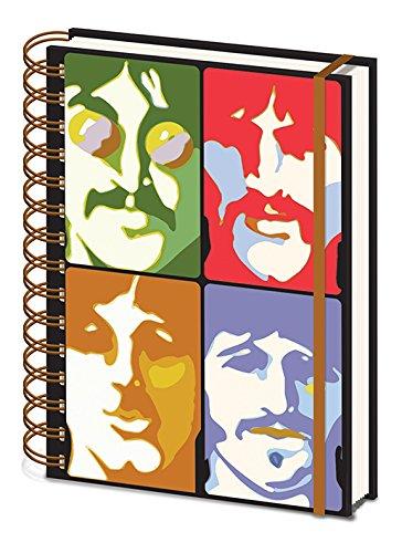 The Beatles Cuaderno de Notas con Espiral A5–Yellow Submarine