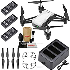 SOLD BY DJI AUTHORIZED DEALER SURE RC! Tello: An impressive little drone for kids and adults that's a blast to fly and helps users learn about drones with coding education. Get yourself a Tello to find out just how awesome flying can be! SOLD BY DJI ...