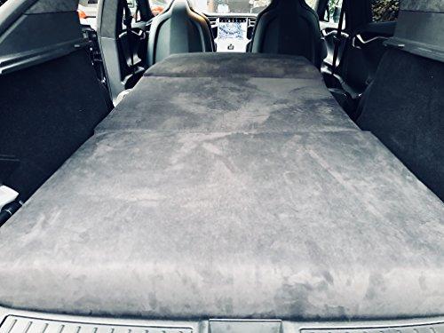 Faltbare Matratze für Tesla Model S 10cm dick und Bequeme 95 cm breit und 195 cm lang exklusiv aus dem Yachtbau