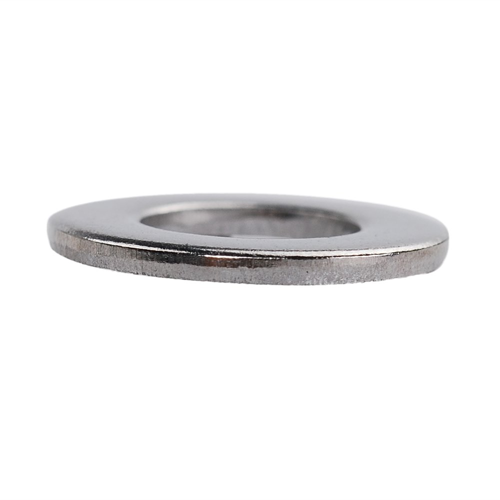 M4X9X0.8mm HIFROM 100pcs M4 Flat Washers 304 Stainless Steel Metric Flat Washers Set for Bolt Screw