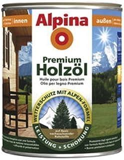 0,75l Alpina Premium Holzöl Bangkirai